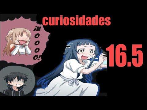 Sword Art Online 16.5 Curiosidades