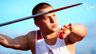 Men's javelin F41 | 2014 IPC Athletics European Championships Swansea