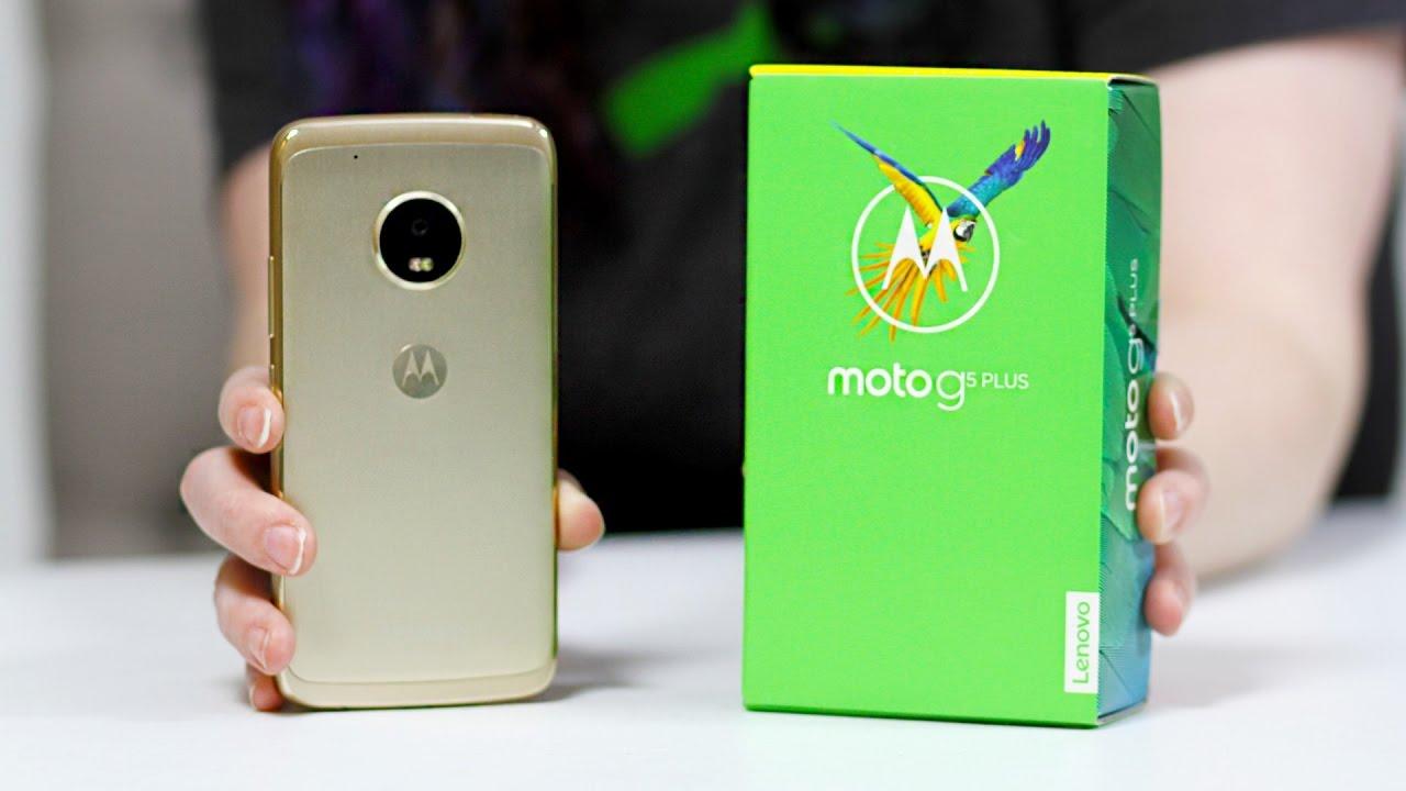 Moto G5 Plus Unboxing