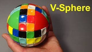 V-Sphere unboxing & demo (amazing new puzzle from V-Cubes)