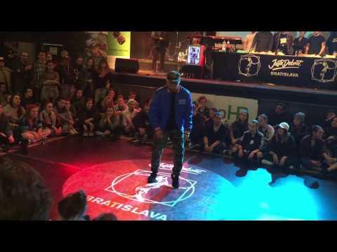 Juste Debout Bratislava 2017   Judge - Boogaloo Kin (popping)