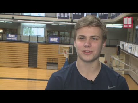 Pace Academy basketball team manager says he's grateful after video goes viral