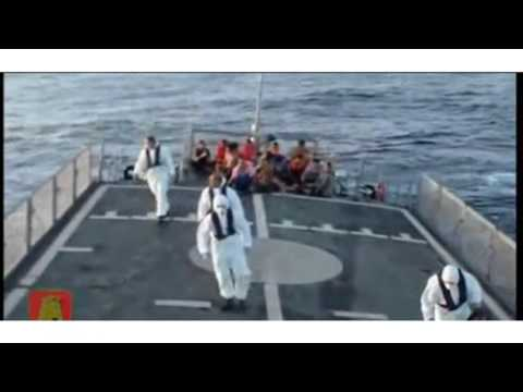 Maltese Military Releases Dramatic Video Of Migrants Rescue