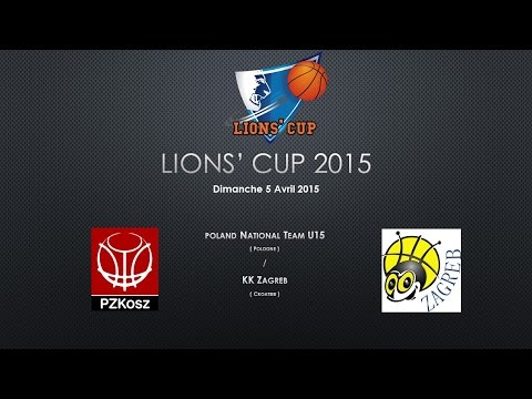 Lions' cup 2015 - Poland U15 National Team - KK Zagreb