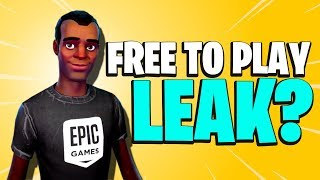 INFORMATIONS POTENTIELLEMENT DIVULGUÉES? Fortnite Save The World Free Release Date Nouvelles