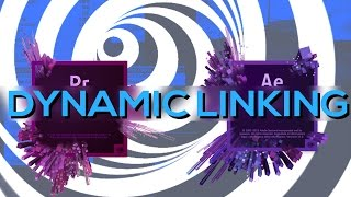 Dynamic Linking between After Effects and Premiere!