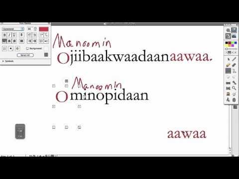 Ojibwe Language Lesson 3p VTI Ind