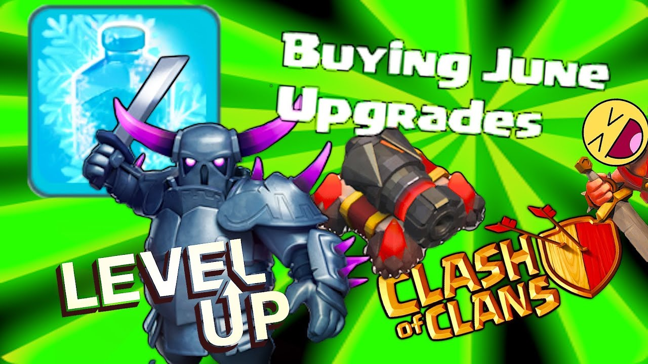 Clash Of Clans Buying Pekka Lvl  Freeze Spell Lvl  Cannon Lvl  Etc Youtube