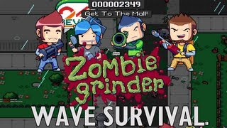 Zombie Grinder: Wave Survival Gameplay