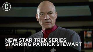 Patrick Stewart to Return as Jean-Luc Picard in New Star Trek Series