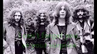 Black Sabbath - Sweet Leaf w/ Lyrics onscreen