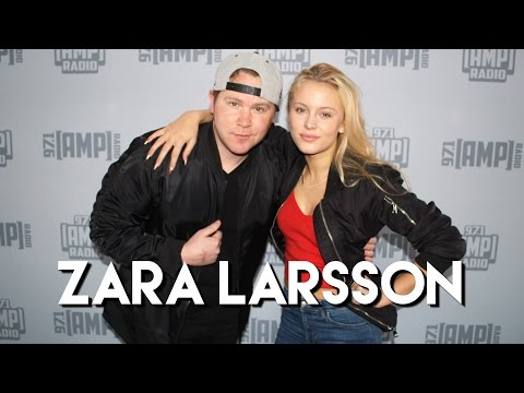 """Zara Larsson Talks """"Never Forget You,"""" Working with MNEK & More!"""