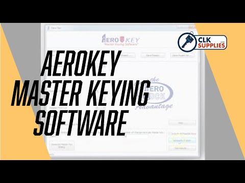 AeroKey Master Keying Software