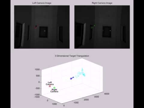 Stereo Camera Target Tracking Demo