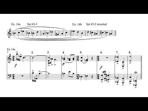 Modern Harmony - Lesson 8b: Pitch class sets and other similar techniques (part 3)