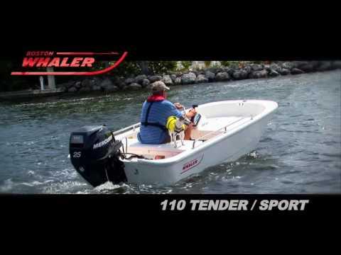 Boston Whaler 110 tender sport