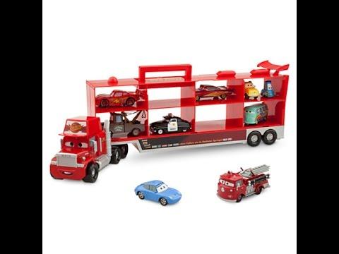 Disney pixar cars mack camion transportador disney - Juguetes disney cars ...