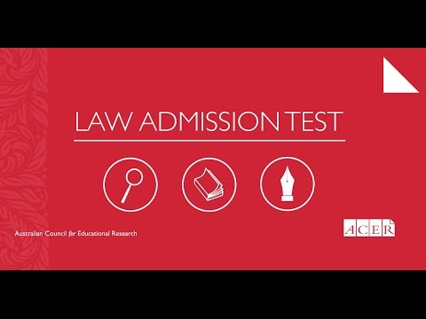 Law Admission Test Information Evening - May 2017