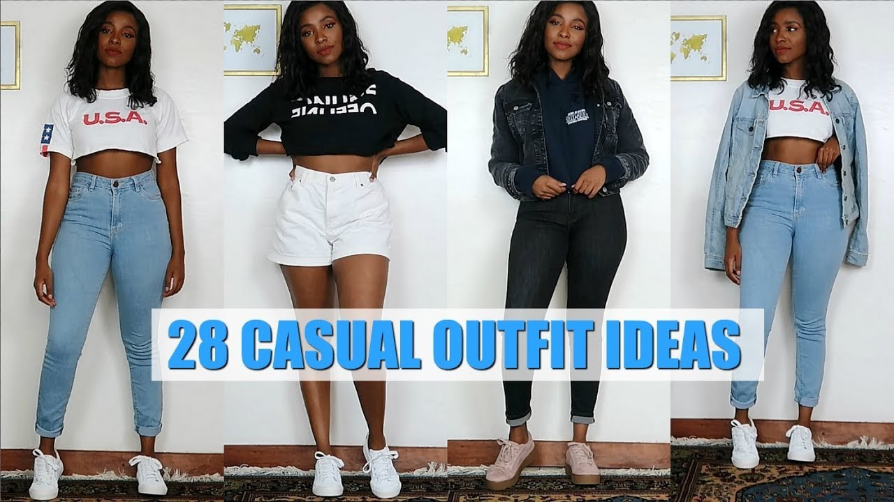 365e71c534 28 CASUAL OUTFIT IDEAS | EVERYDAY OUTFIT IDEAS 2019 - YouTube