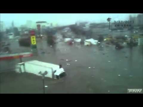 Tsunami in Tagajo, Miyagi Prefecture, Japan (3)