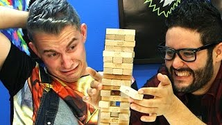 Jenga: The Most Stressful Game Ever?!  - SourcefedPLAYS