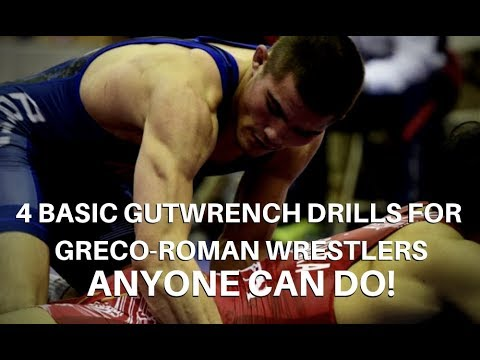 4 Basic Gutwrench Exercises for Greco-Roman Wrestlers ANYONE Can Do!