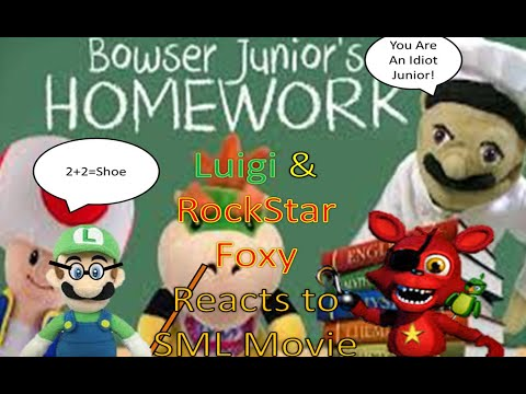 sml movie bowser jr homework