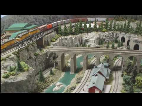 LIFE ON THE SV&GS (N Scale Layout) HD