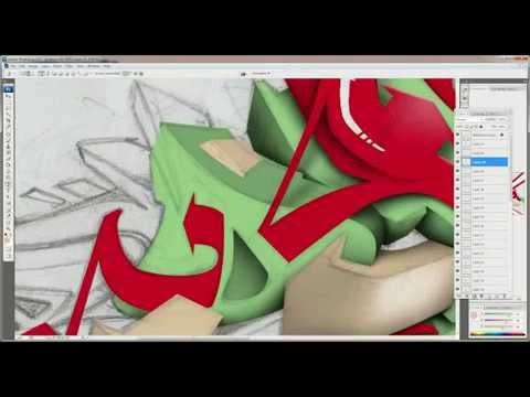 Dopeness  3D Graffiti, photoshop