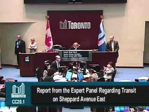 TO Debate on Sheppard Transit Mar 21 2012 - Part 4 - Baeremaeker's Motion