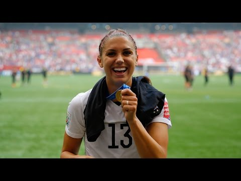 USA Women's Soccer Star ALEX MORGAN (EXCLUSIVE)