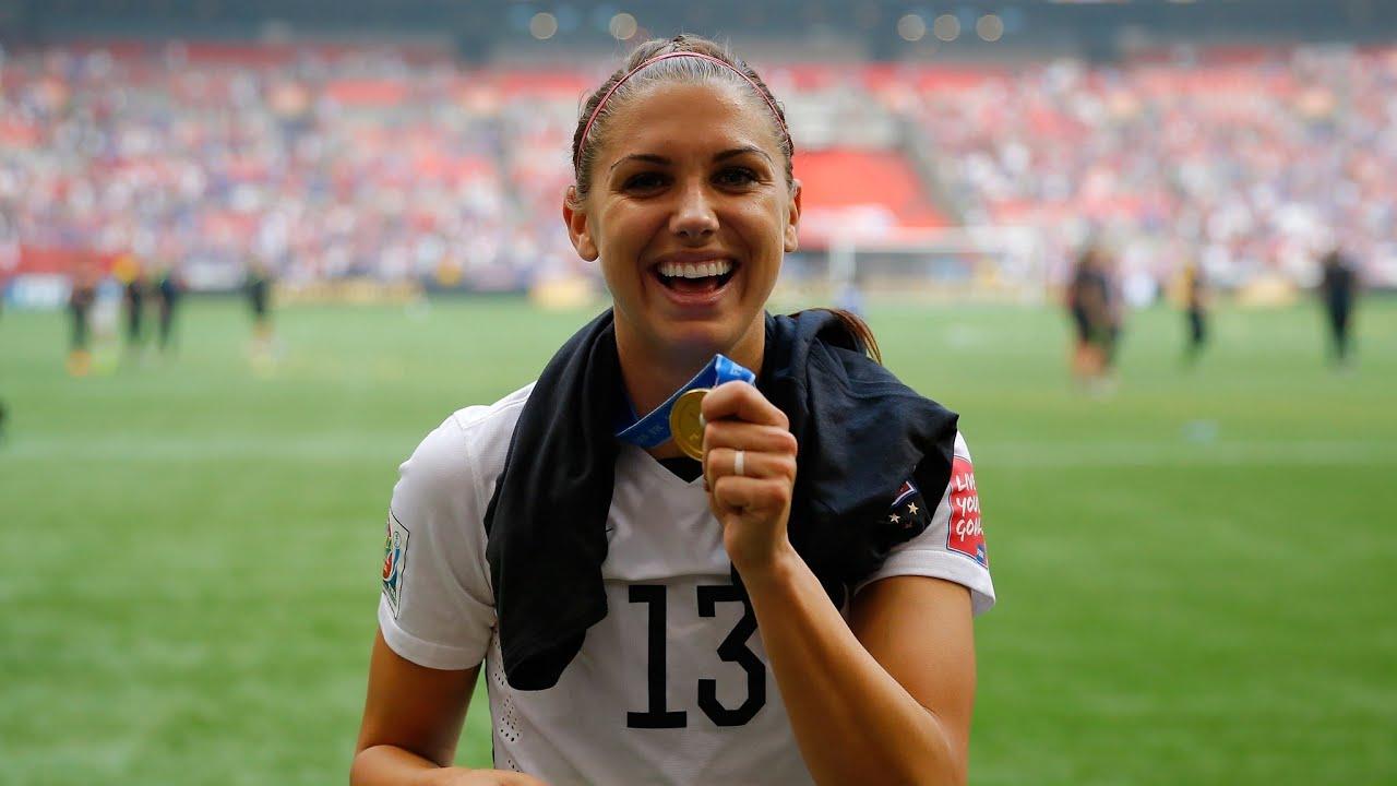 US Women's Soccer Star Alex Morgan Highlights Video