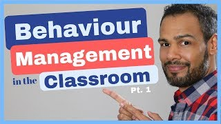 Behaviour management in the classroom (A Cognitive Perspective)