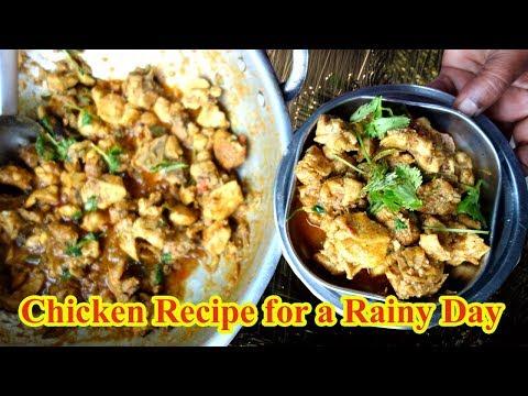 Simple Chicken Recipe for a Rainy Day| Yummy Taste Recipe | VILLAGE FOOD