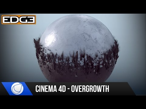 Cinema 4D Mograph Tutorial - Overgrowth Transition Effect &