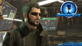 Deus Ex Mankind Divided - Time Traveler Trophy / Achievement Guide (Mission 2)