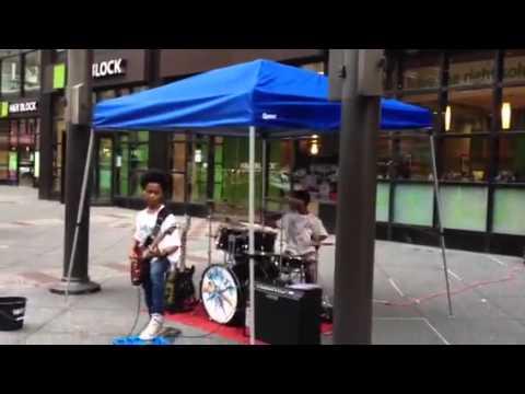 42nd street kids jam out