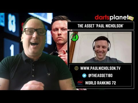 AWESOME INTERVIEW WITH 'THE ASSET' PAUL NICHOLSON