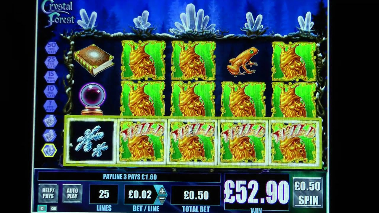 Play crystal forest slot machine free online gambling in panama city florida