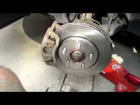 2008 2012 Front Brakes Chrysler Town And Country Youtube