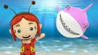 Baby Shark | Nursery Rhymes & Kids Songs (Little Fairies)