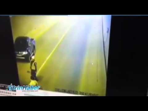 Sinop Boyabat tünel kazası güvenlik kamera