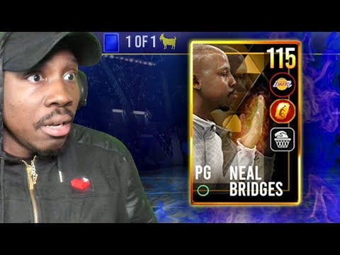 Getting 115 OVR GOLDEN TICKET NEAL BRIDGES! NBA Live Mobile 19 Season 3 Ep. 85