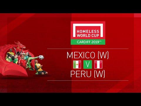 Mexico (w) V Peru (w)   Day 6, Pitch 1   Homeless World Cup 2019