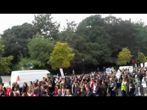 #march4choice crowd St Stephen's Green Saturday September 29 2012