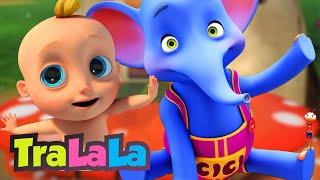 MIX Cântece TraLaLa - Elefantul Cici | Zigaloo | O rățușcă stă pe lac | Copiii cântă și dansează!