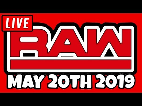 WWE RAW Live Stream May 20th 2019 - Full Show Live Reactions 5/20/19