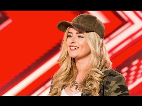 Caitlyn Vanbeck - Makes Nicole Emotional - Full Segment - Auditions - Week 1 - X Factor UK 2016