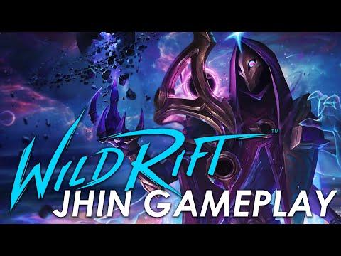 Dark Cosmic Jhin   Wild Rift Gameplay