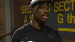 Tupac Shakur 2Pac on In Living Color with Jamie Foxx and Tommy Davidson Funny